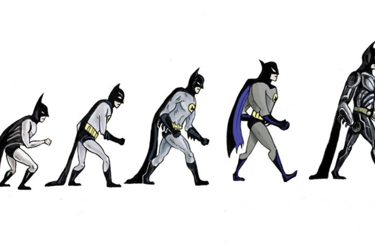 Infográfico: A evolução do Batman