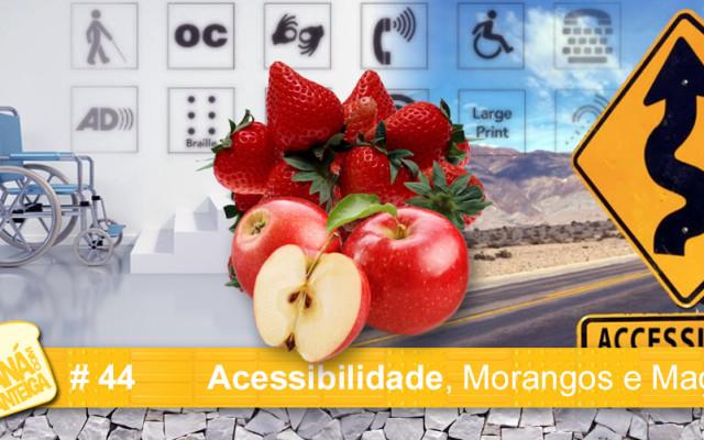MCM 44  – Acessibilidade, Morangos e Maçãs