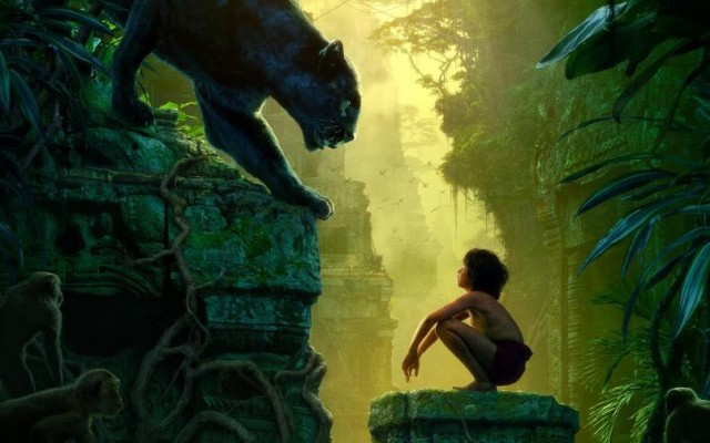 Tem trailer de Mogli, o Menino lobo, aquele que parece o Tarzan!