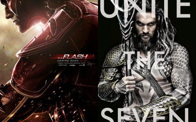 Os filmes de Aquaman e Flash podem ter lançamento modificado