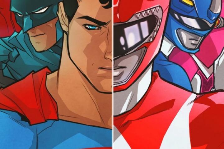 Quadrinhos de Liga da Justiça e Power Rangers já tem capas