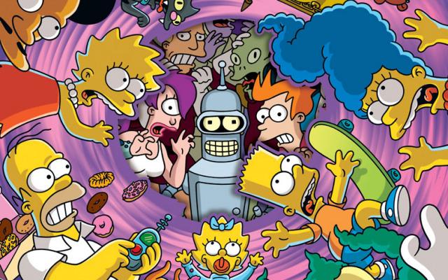 Futurama/Simpsons Infinitely Secret Crossover Crisis (2002)