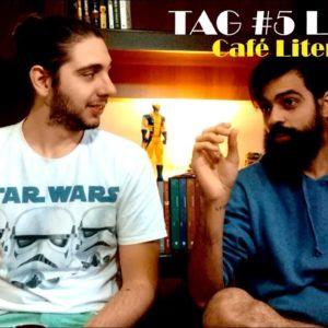 Café Literário #07 – TAG #5Livros